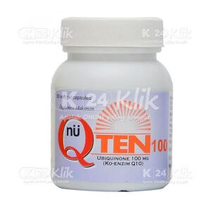JUAL Q TEN 100MG CAP 30'S/BTL