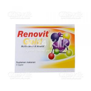 Apotek Online - RENOVIT GOLD CAPL 4S STRIP 25S