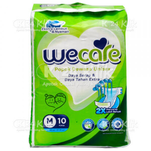 Apotek Online - WE CARE PAMPERS DEWASA M 10S