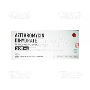 JUAL AZITHROMYCIN PROMED 500MG FC CAPL 30S