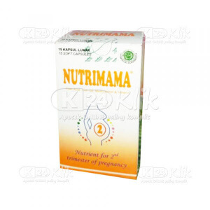 JUAL NUTRIMAMA 2 SOFTCAP 15S BTL