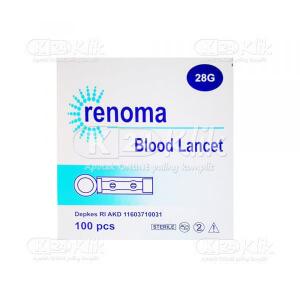 Apotek Online - RENOMA BLOOD LANCET 28G 100S