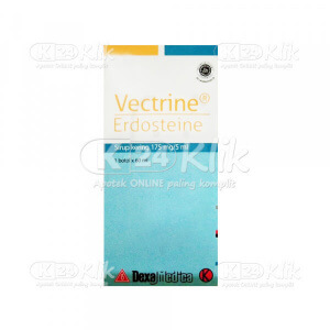 Apotek Online - VECTRINE DRY SYRUP 60ML 175MG/5ML