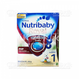 JUAL NUTRIBABY 1 ROYAL PROSYNEO PHP 0-6BLN 400G BOX