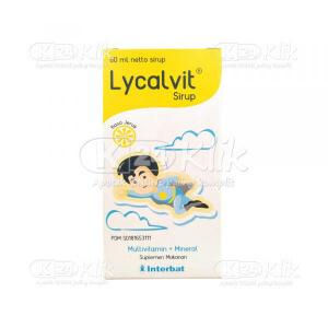 Apotek Online - LYCALVIT SYR 60 ML
