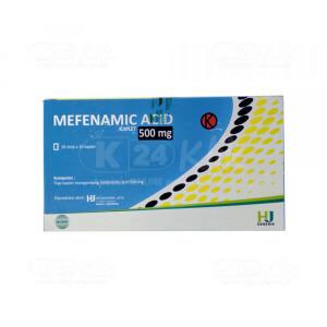 Apotek Online - ASAM MEFENAMAT HEXPHARM 500MG CAPL 100S