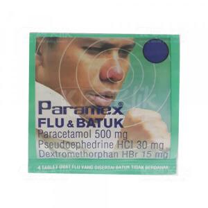 Apotek Online - PARAMEX FLU BATUK 4S