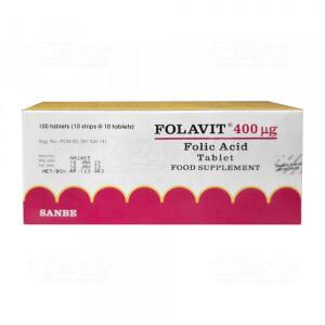 Apotek Online - FOLAVIT 400MCG TAB 10S