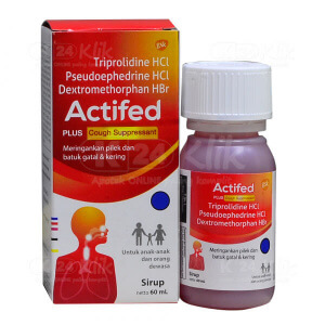 JUAL ACTIFED COUGH SYR MERAH 60ML