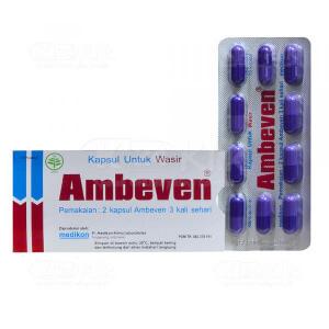 JUAL AMBEVEN CAP 10S/STR