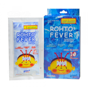 JUAL ROHTO FEVER PATCH 2S