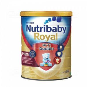 JUAL NUTRIBABY ROYAL PEPTI 0-12 BLN 400 Kaleng