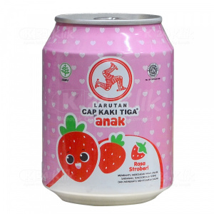 Apotek Online - LARUTAN K3 ANAK STRAWBERY 250ML
