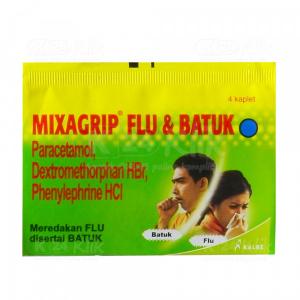 Apotek Online - MIXAGRIP FLU & BATUK TAB