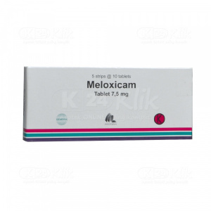 JUAL MELOXICAM 7,5MG INDOFARMA