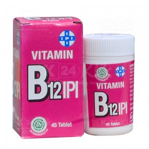 JUAL VITAMIN B12 IPI TAB 45S TUBE