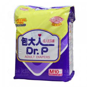 Apotek Online - DR P PAMPERS DEWASA SPECIAL M 10S