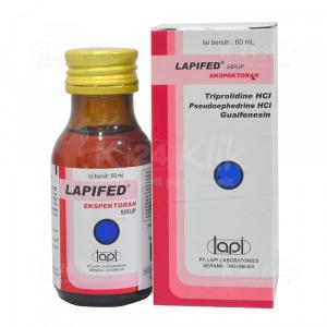 Apotek Online - LAPIFED EXP SYR 60ML