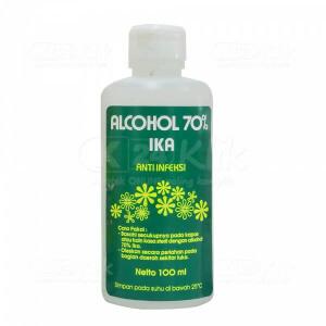 JUAL ALKOHOL 70% IKA 100ML