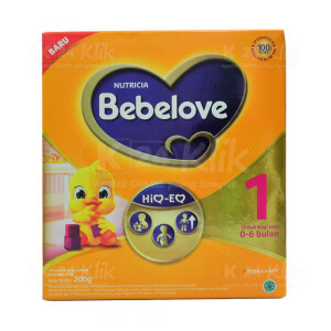 JUAL BEBELOVE 1 0-6BLN 200G BOX