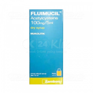 JUAL FLUIMUCIL DRY SYRUP 75ML 100MG/5ML
