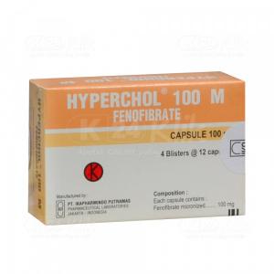 Apotek Online - HYPERCHOL 100MG CAP