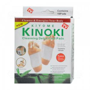 JUAL KINOKI CLEANSING DETOX FOOT PADS WHITE 10S