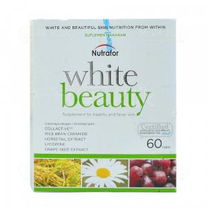 Apotek Online - NUTRAFOR WHITE BEAUTY TAB 60S
