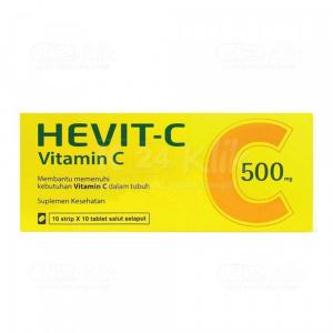 JUAL HEVIT C 500MG FC TAB 10S STRIP 10S