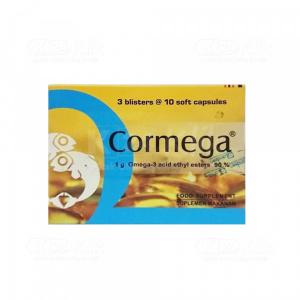 Apotek Online - CORMEGA SOFT CAP 30S STRIP