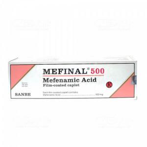 Apotek Online - MEFINAL 500MG TAB