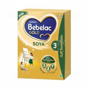 JUAL BEBELAC GOLD SOYA 3 VANILA 360G BOX