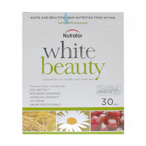 JUAL NUTRAFOR WHITE BEAUTY TAB 30S