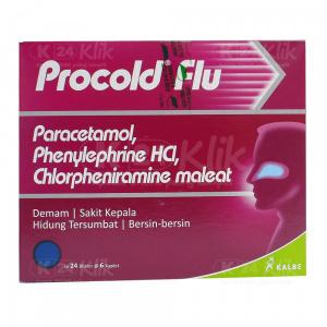 Apotek Online - PROCOLD FLU CAPL 6S STRIP 24S