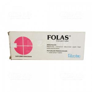 Apotek Online - FOLAS 400MCG TAB 100S