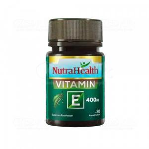 JUAL NUTRAHEALTH VITAMIN E 400IU SOFTCAP 30S BTL