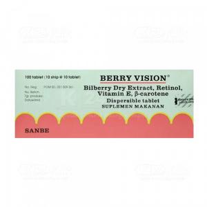 Apotek Online - BERRY VISION DISP 100S