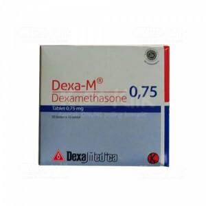 Apotek Online - DEXA M 0.75MG TAB 500S