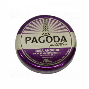 Apotek Online - PAGODA PERMEN GRAPE 20 G