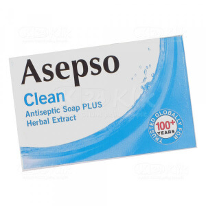 JUAL ASEPSO CLEAN SOAP 80G