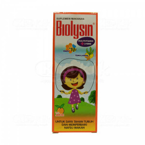 JUAL BIOLYSIN SYR 100 ML
