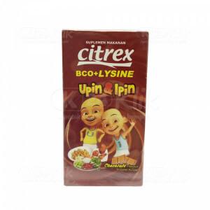 JUAL CITREX VIT BCO+LYSINE CHOCO TAB 30S BTL