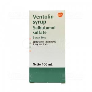 JUAL VENTOLIN SYR 100ML 2MG/5ML