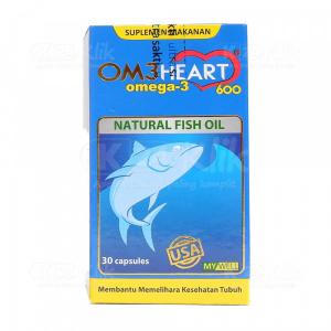 Apotek Online - OMEHEART CAP 30S BTL (OM3HEART)