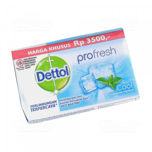 JUAL DETTOL SOAP COOL 105G