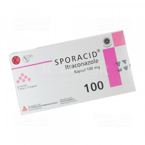 Apotek Online - SPORACID 100MG CAP