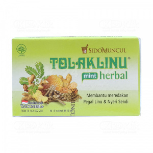 JUAL TOLAK LINU HERBAL MINT 15ML SACH 5S