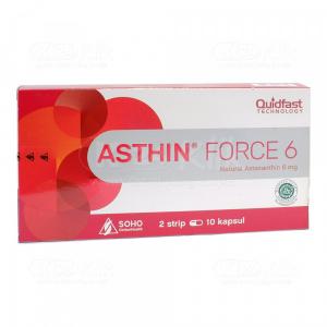 Apotek Online - ASTHIN FORCE 6MG CAP 20S