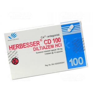 Apotek Online - HERBESSER CD 100MG TAB