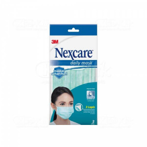 JUAL NEXCARE MASKER DAILY EARLOOP 3S